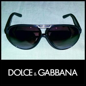 Dolce & Gabbana Aviator Sunglasses FRAMES ONLY